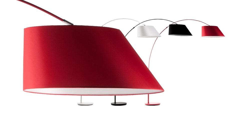 achat lampadaire arc rouge original 5 Inspirant Lampadaire original Design Hzt6