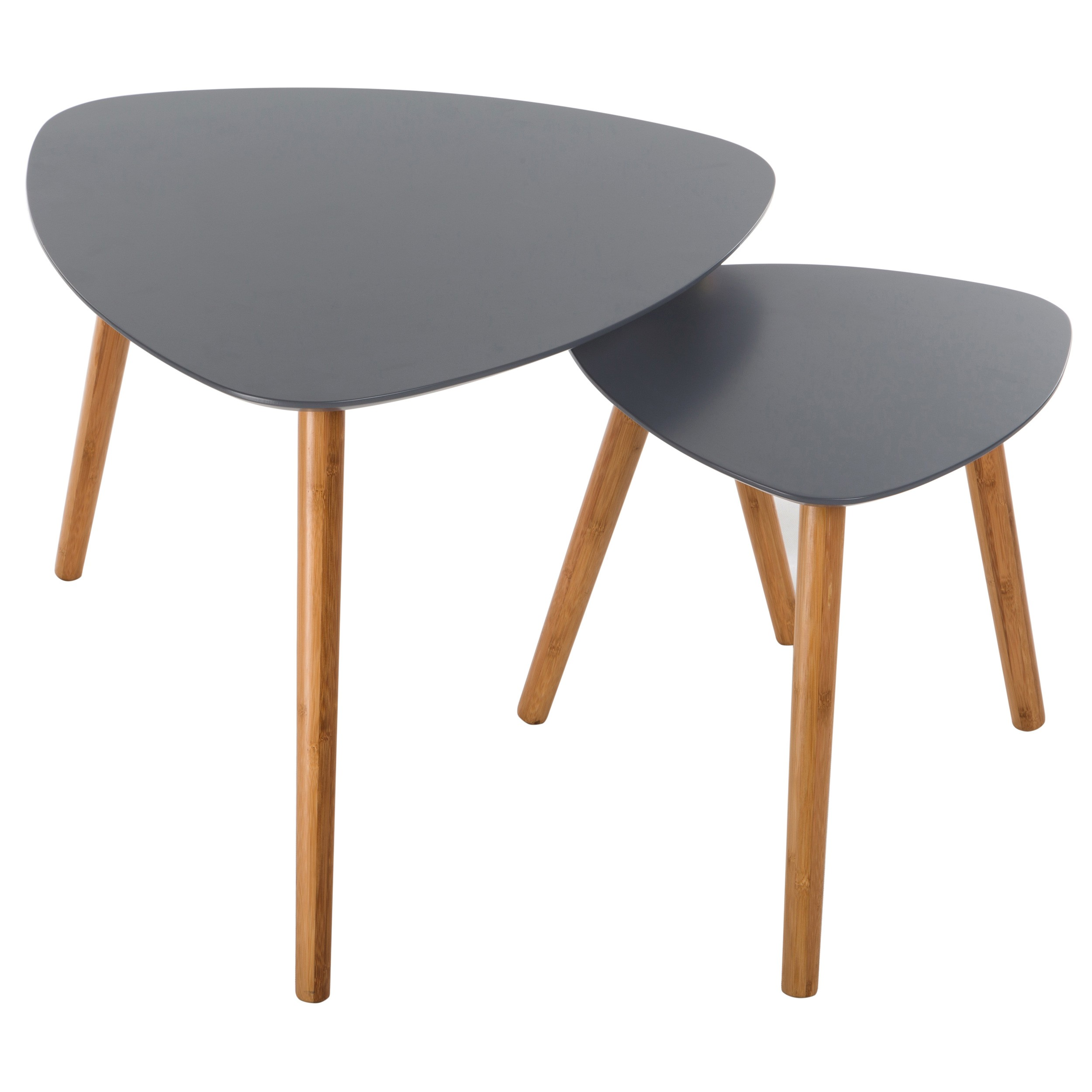 table basse scandinave grise lot de 2 commandez nos tables basses scandinaves grises lot de. Black Bedroom Furniture Sets. Home Design Ideas