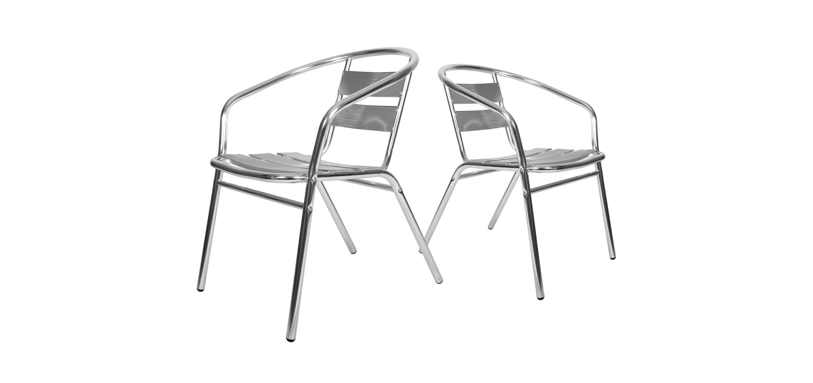 Chaise bistrot : découvrez nos lots de chaises bistrots en aluminium ...