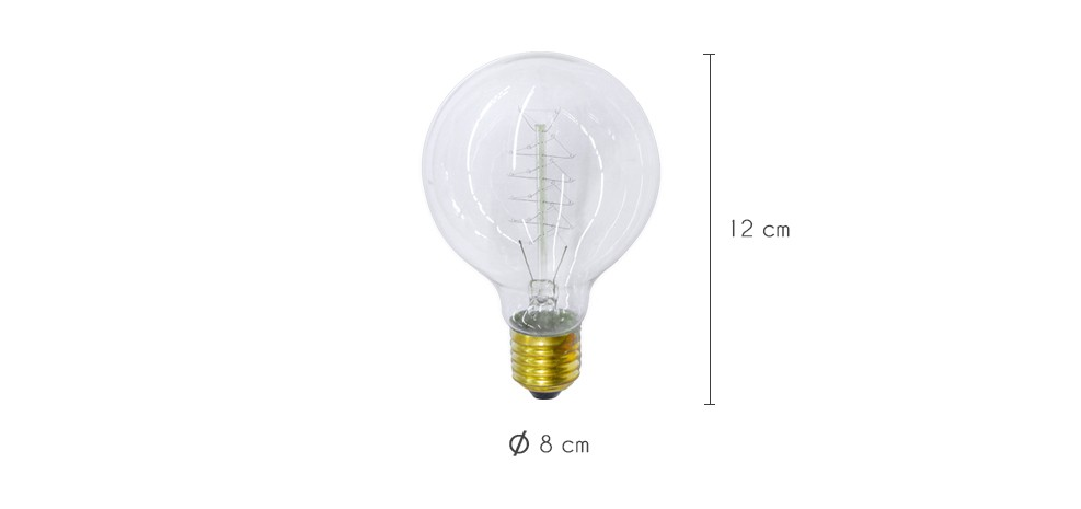 Grosse ampoule decorative best watt globe mm led bc b bayonet cap warm white opal equivalent to - Grosse ampoule decorative ...