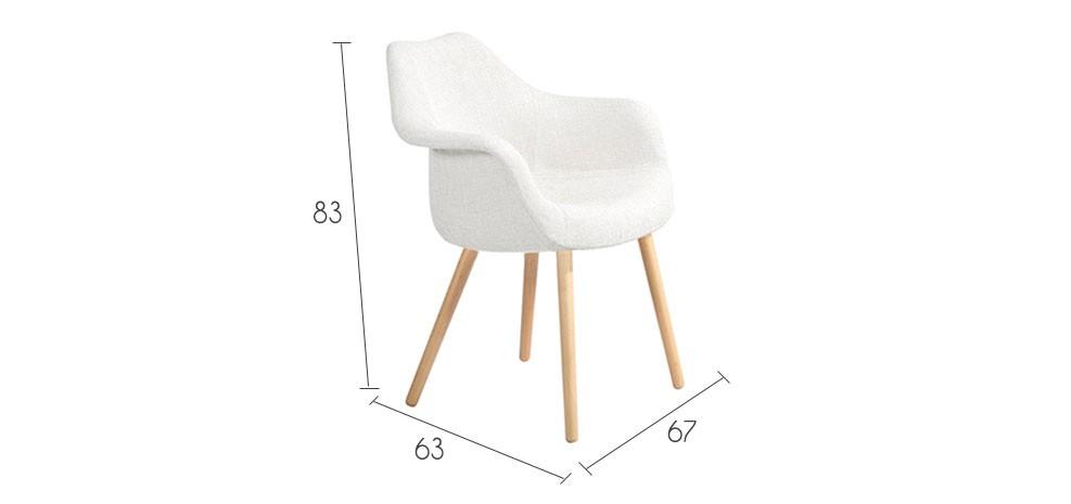 Chaise anssen blanche d couvrez nos chaises anssen for Acheter chaise design