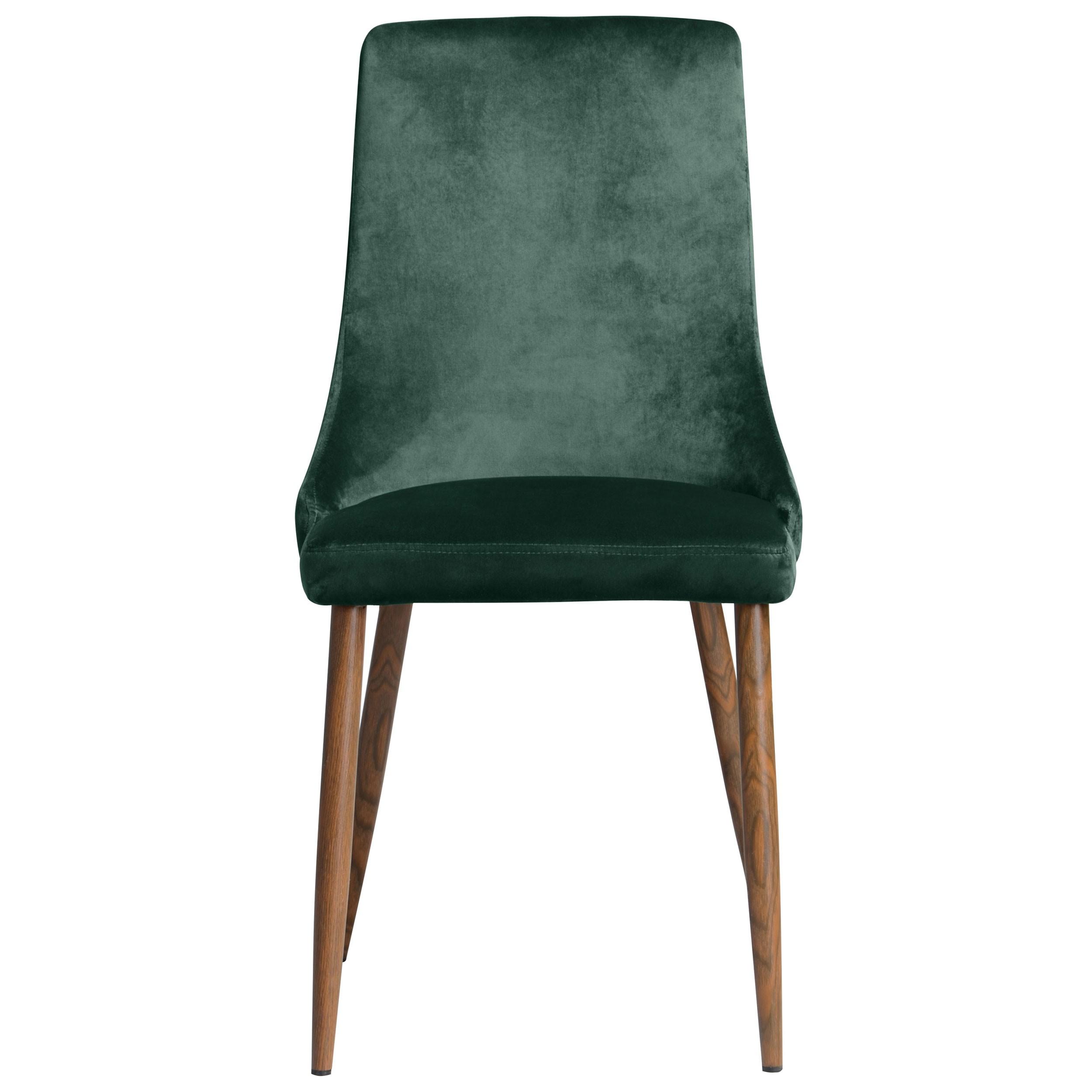 acheter chaise velours vert previous - Chaise Verte
