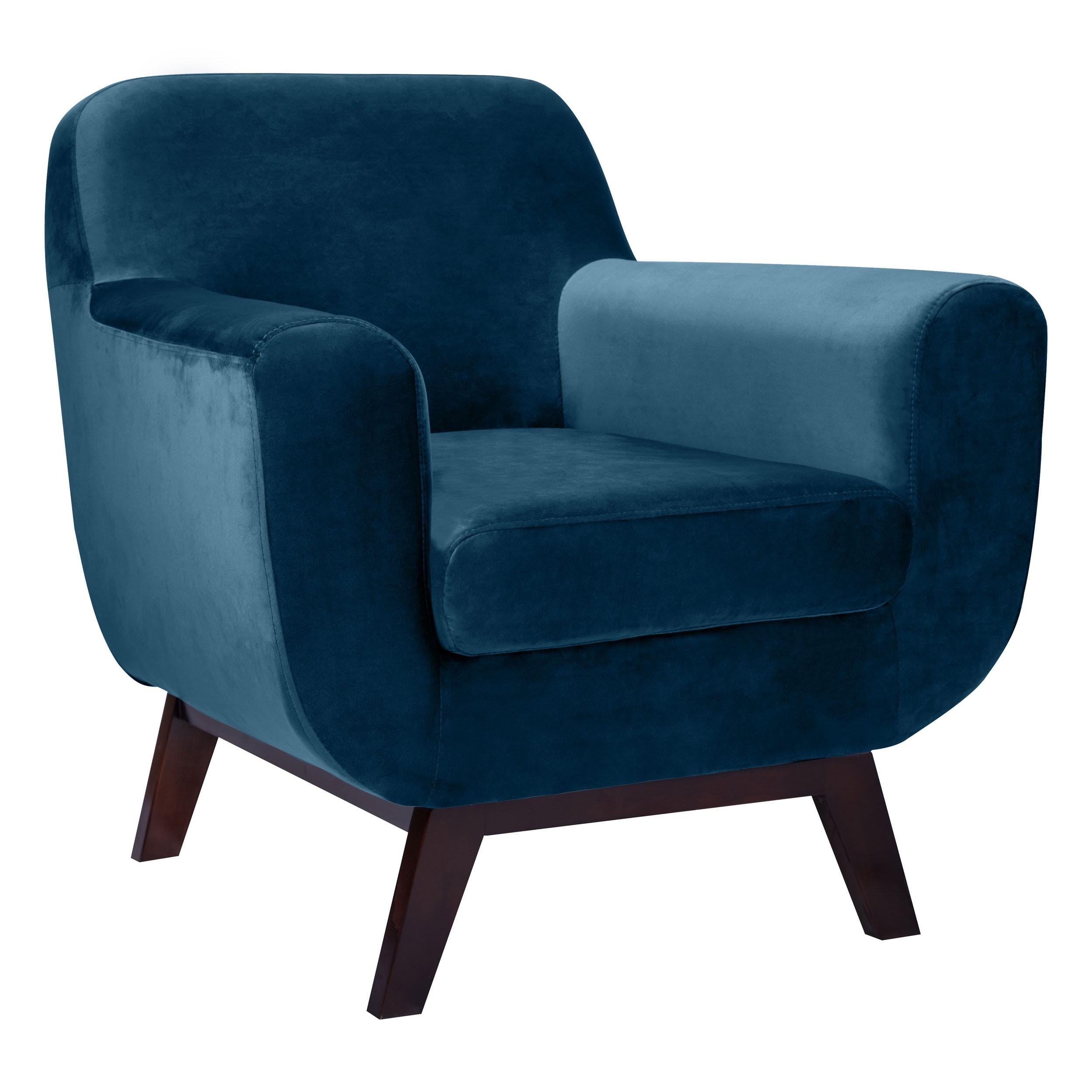 fauteuil copenhague en velours bleu commandez les fauteuils copenhague en velours bleus design. Black Bedroom Furniture Sets. Home Design Ideas