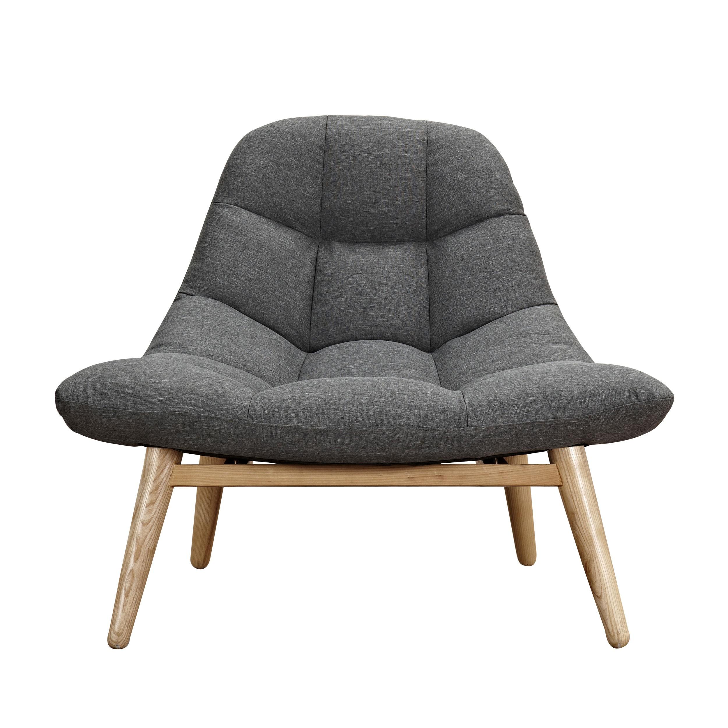 Fauteuil Melby gris anthracite adopez nos fauteuils Melby gris