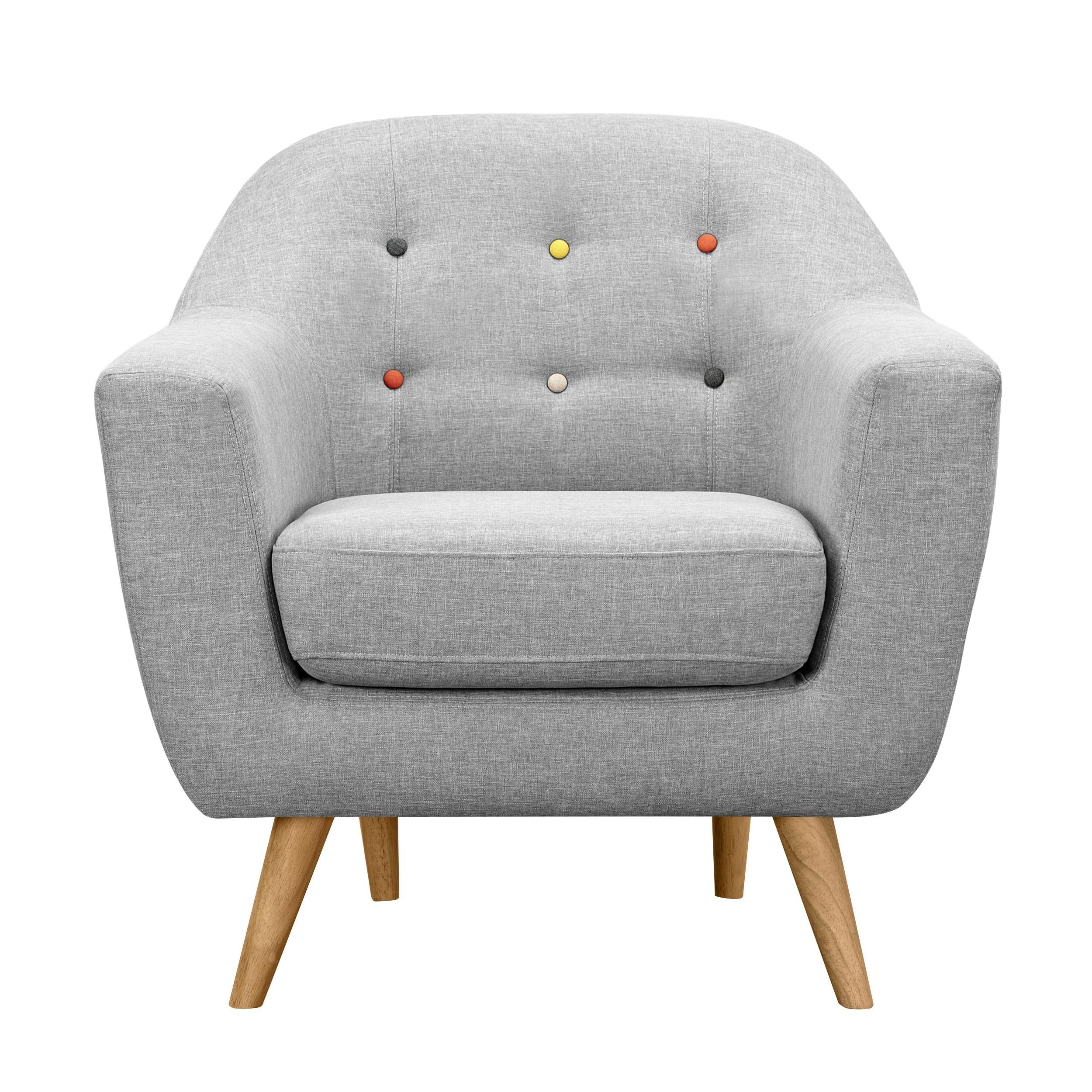 Fauteuil Rio gris clair mandez nos fauteuils Rio gris clair RDV