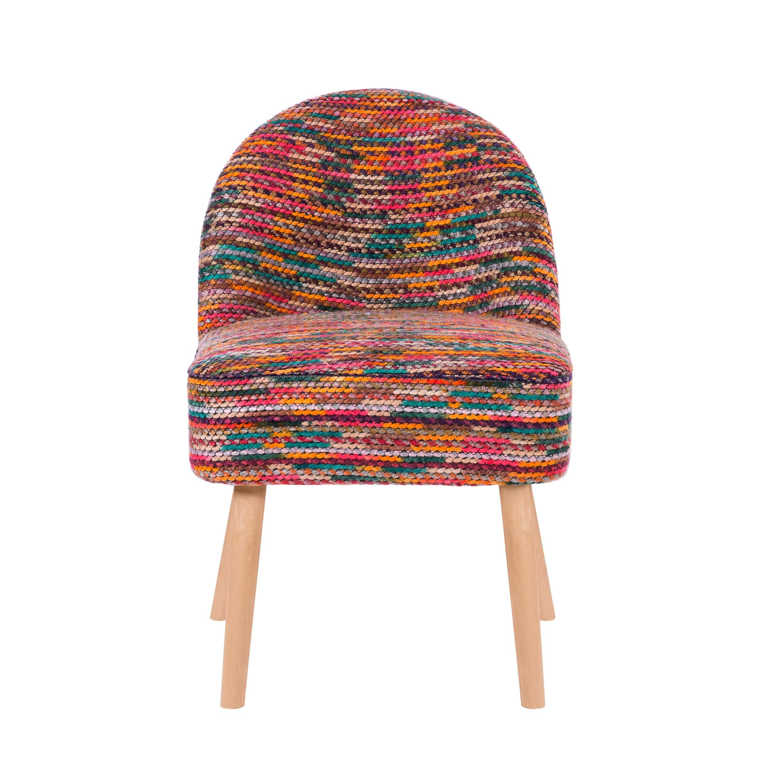 Fauteuil Milo Multicolore Installez Nos Fauteuils Milo - Petit fauteuil scandinave
