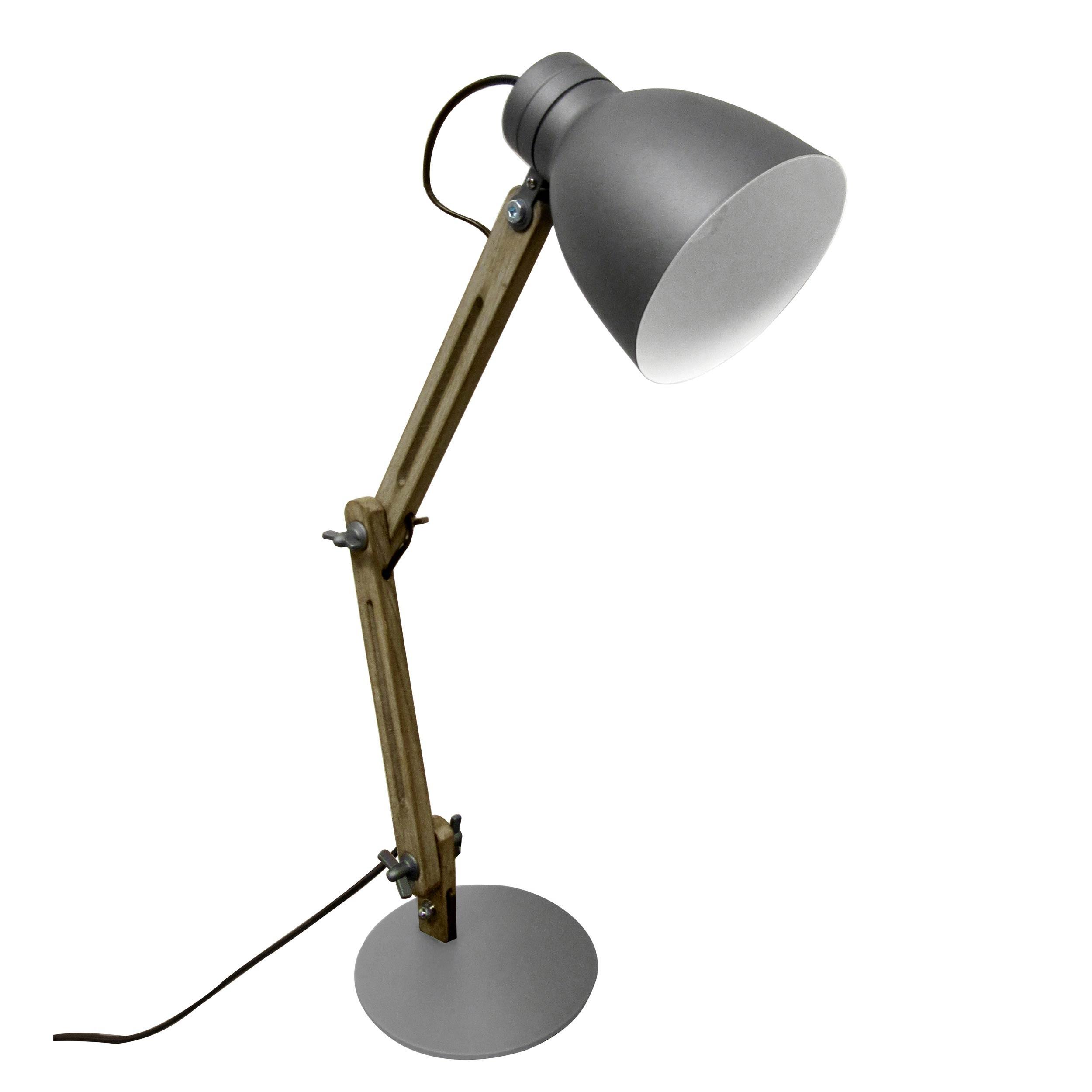 Lampe De Bureau Makai Grise Achetez Les Lampes De Bureau Makai