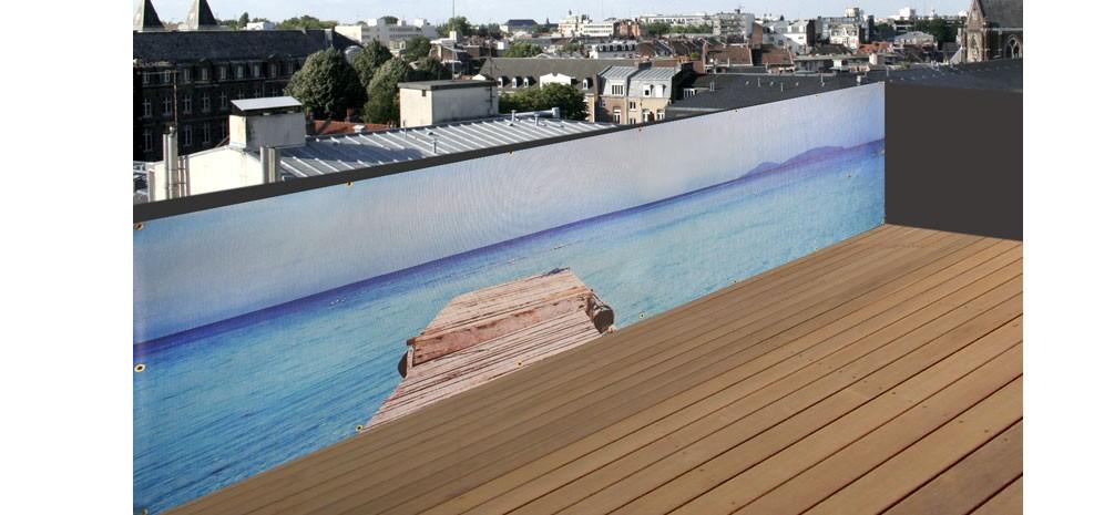 Brise-vue de jardin Ponton : choisissez nos brise-vue de jardin ...