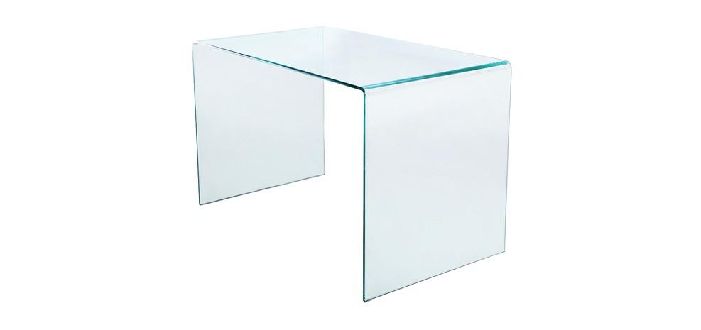 bureau en verre pure choisissez nos bureaux en verre. Black Bedroom Furniture Sets. Home Design Ideas