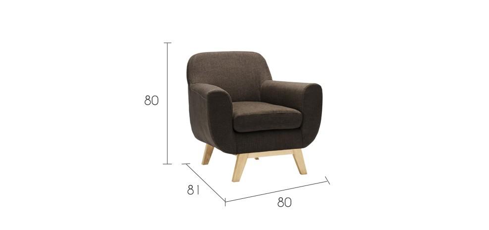 fauteuil marron tissu pas cher taille Résultat Supérieur 5 Frais Fauteuil Marron Pas Cher Photographie 2017 Jdt4