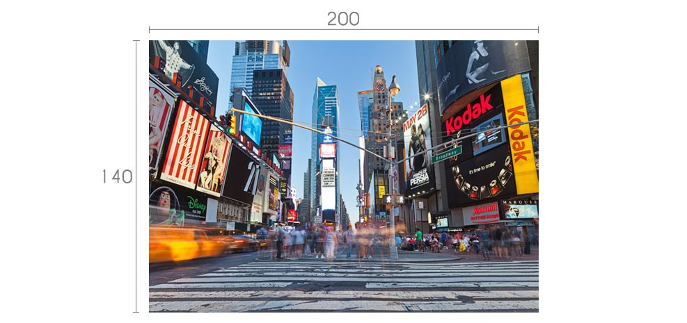 Poster mural geant new york pas cher for Poster mural pas cher