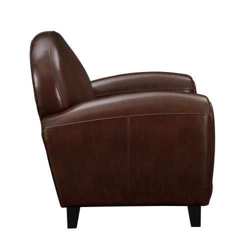 Fauteuil Club cuir marron achetez nos fauteuils Club cuir marron