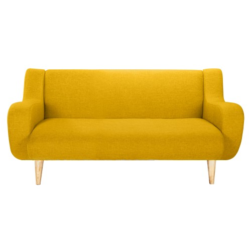 acheter canapé jaune tissus