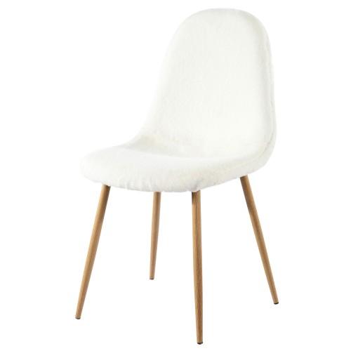 chaise pilou blanche lot de 2 d couvrez nos chaises