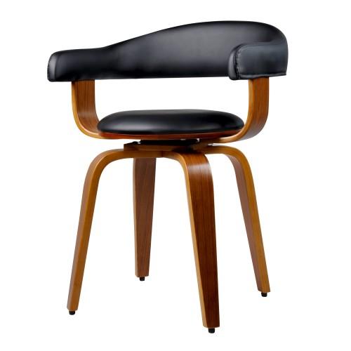 acheter chaise en pu noire