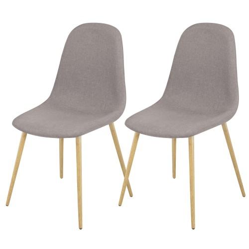 Chaise fredrik taupe d couvrez nos chaises fredrik taupe for Acheter des chaises
