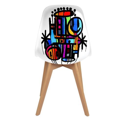 acheter chaise street art