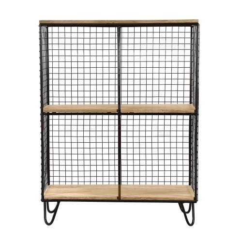 acheter etagere de rangement metal bois