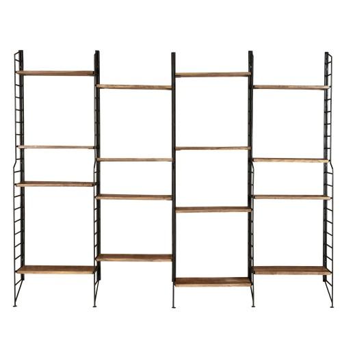 acheter etagere pratique murale bois