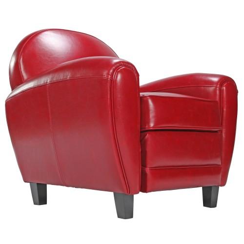Fauteuil club rouge choisissez nos fauteuils club en cuir RDV déco