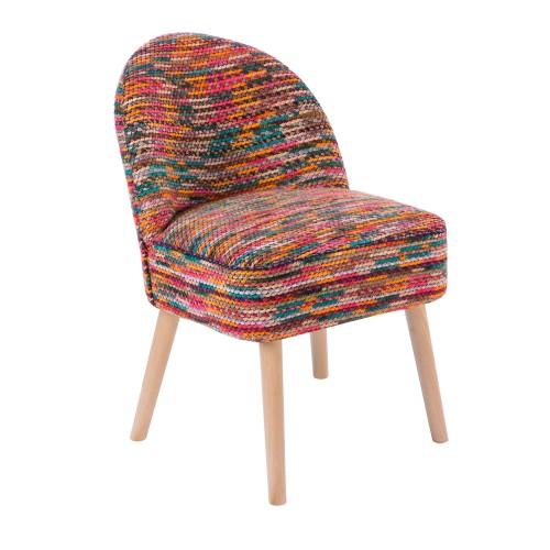 Fauteuil milo multicolore installez nos fauteuils milo for Fauteuil multicolore design