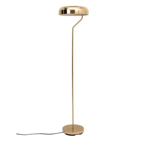 acheter lampadaire metal dore