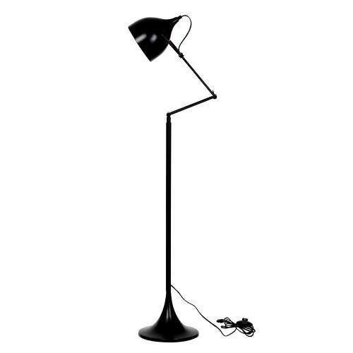 acheter lampadaire noir metal