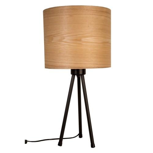acheter lampe a poser metal et bois