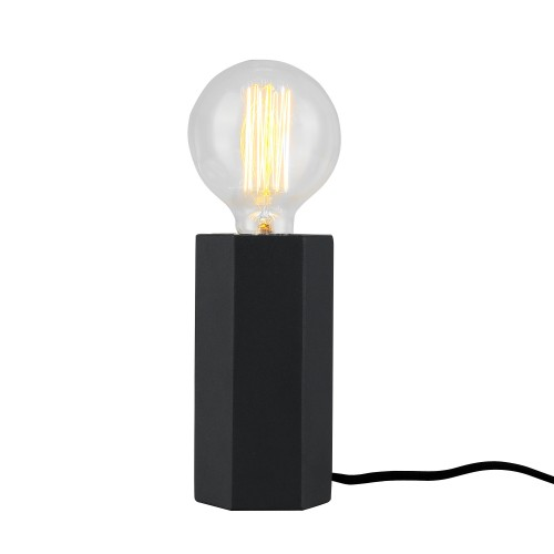 acheter lampe design metal noire