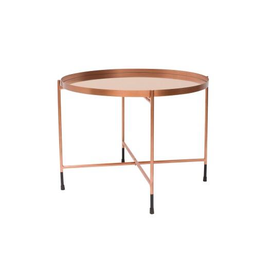 acheter table basse cuivre metal