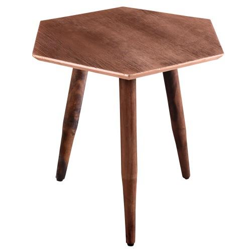 acheter table basse cuivre