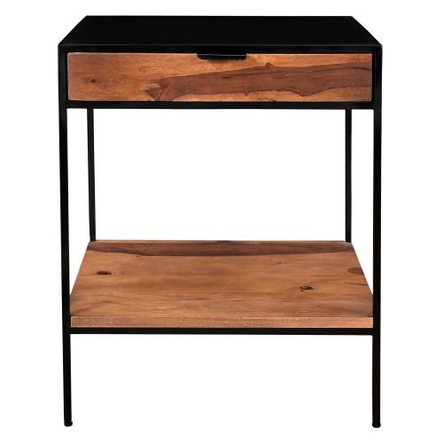 acheter table de chevet bois