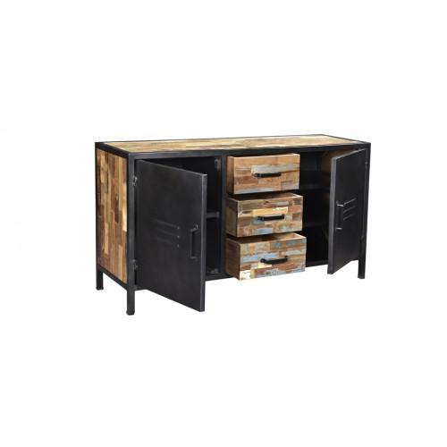buffet arati 2 portes 3 tiroirs achetez les buffets. Black Bedroom Furniture Sets. Home Design Ideas