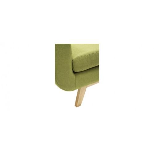 Fauteuil Copenhague Vert Commandez Nos Fauteuils Copenhague Verts - Fauteuil en tissu pas cher