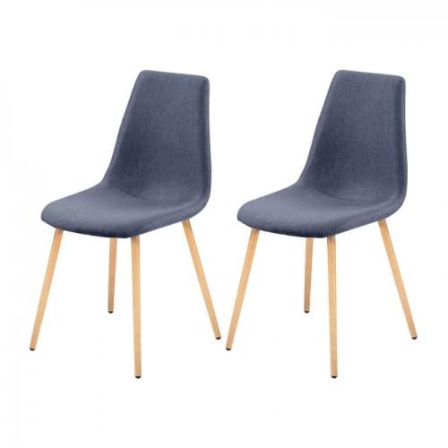 chaises bleues. Black Bedroom Furniture Sets. Home Design Ideas