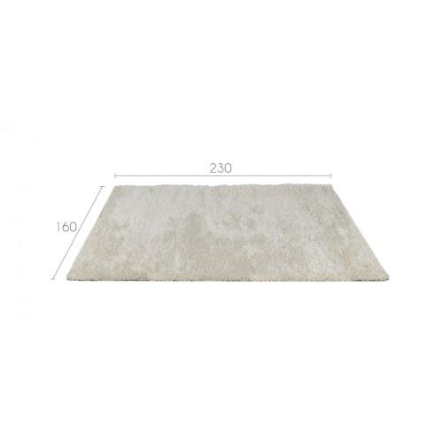 tapis salon blanc poil court 160x230 - Tapis Salon Blanc