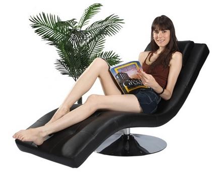 blog vente priv e num ro 42 le fauteuil lazy noir. Black Bedroom Furniture Sets. Home Design Ideas