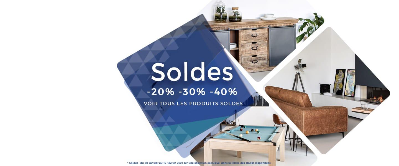 Soldes Hiver 2021 - FR