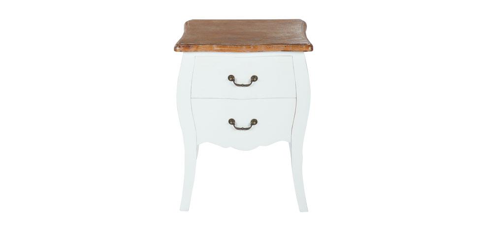 chevet marquis blanc neuf ebay. Black Bedroom Furniture Sets. Home Design Ideas