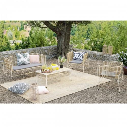 Canapé de jardin Paraiso 2 places