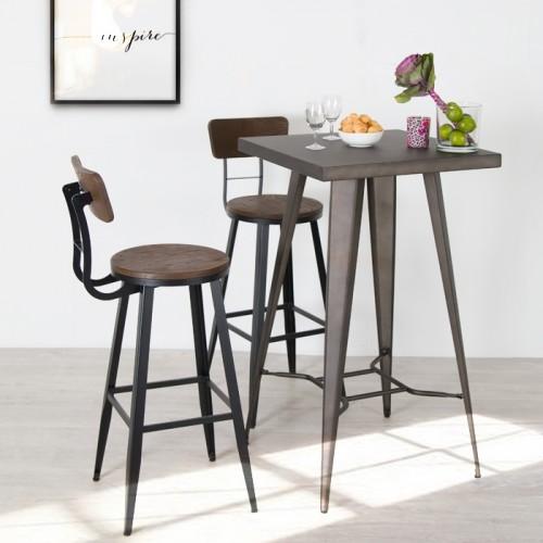 Chaise de bar Midland 76 cm
