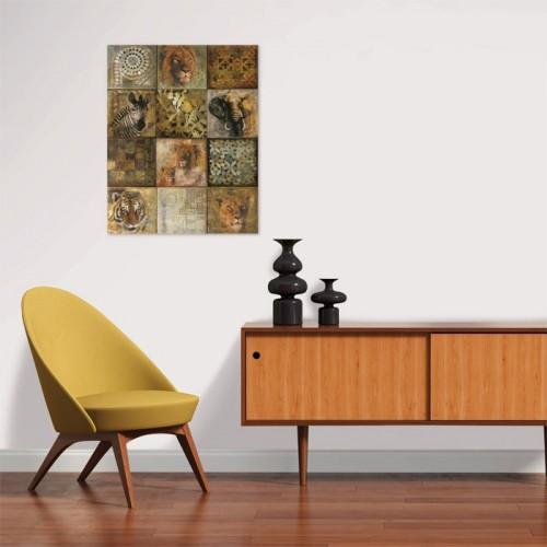 Poster Safari en papier 40 x 50 cm