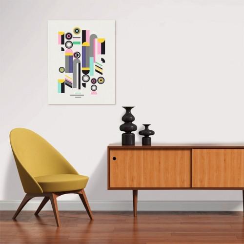 Poster Arts en papier 40 x 50 cm