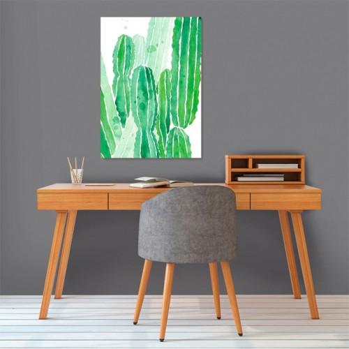 Poster Cactus en papier 50 x 70 cm