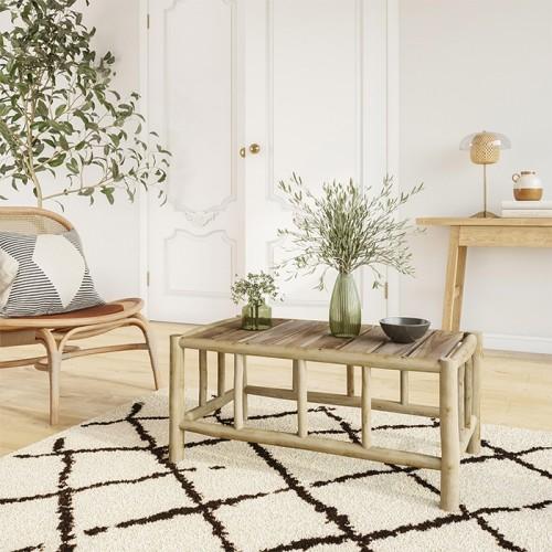 Table basse de jardin Ily en teck
