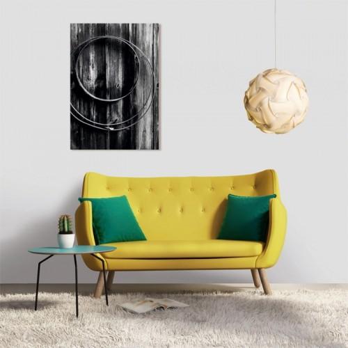 Tableau en verre acrylique Blacky 50 x 70 cm