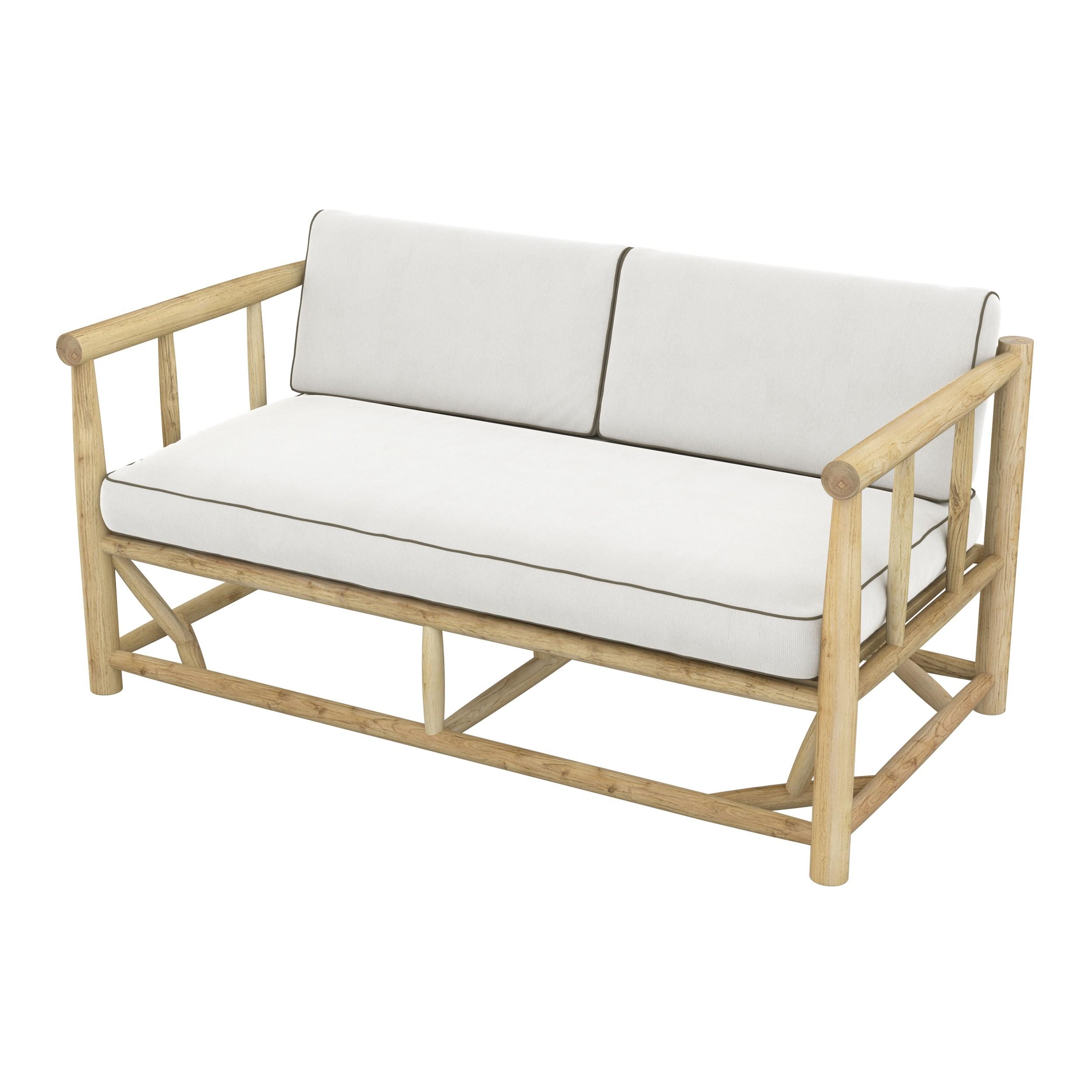 achat canape de jardin 2 places