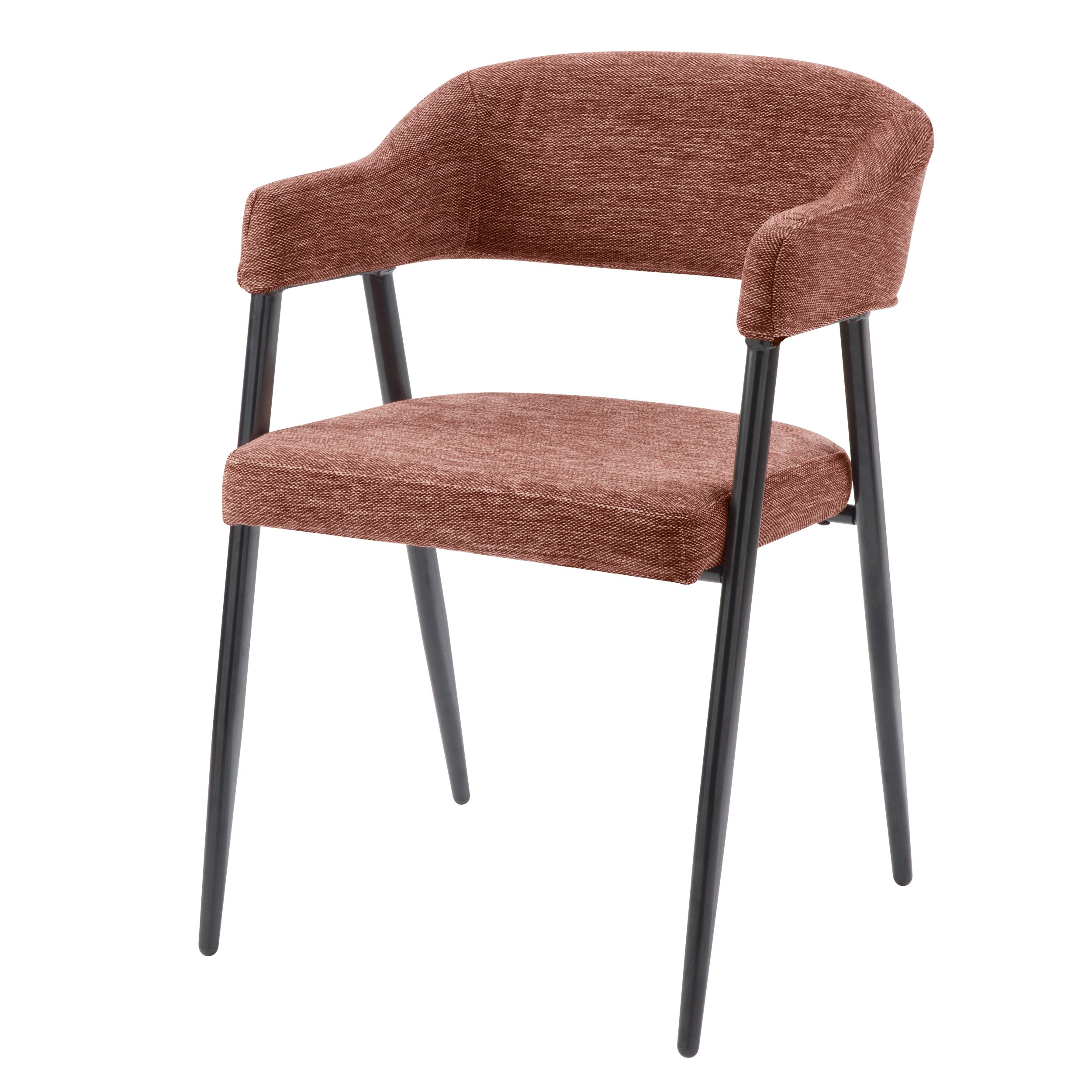 achat chaise assise tissu pieds metal