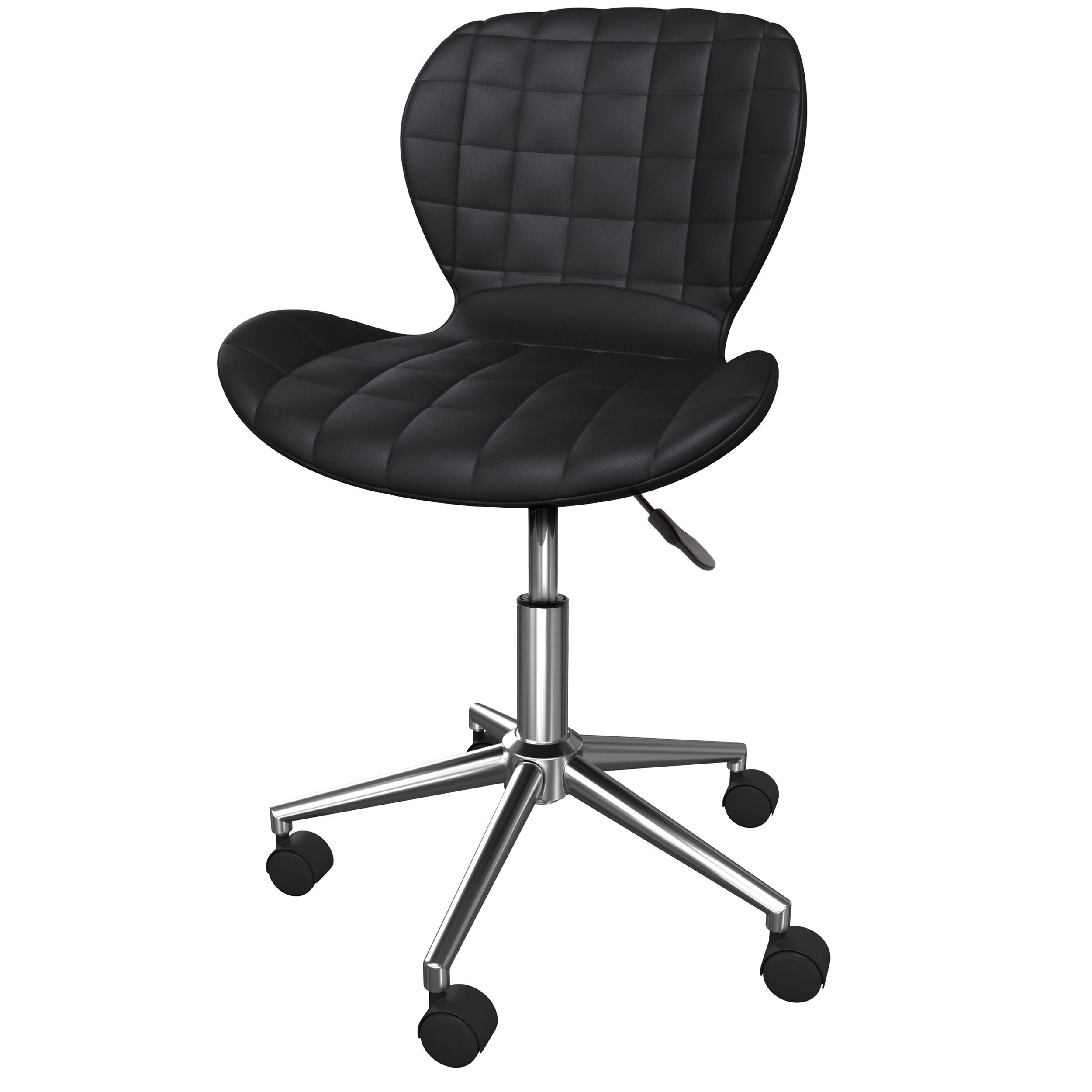 achat chaise de bureau noire