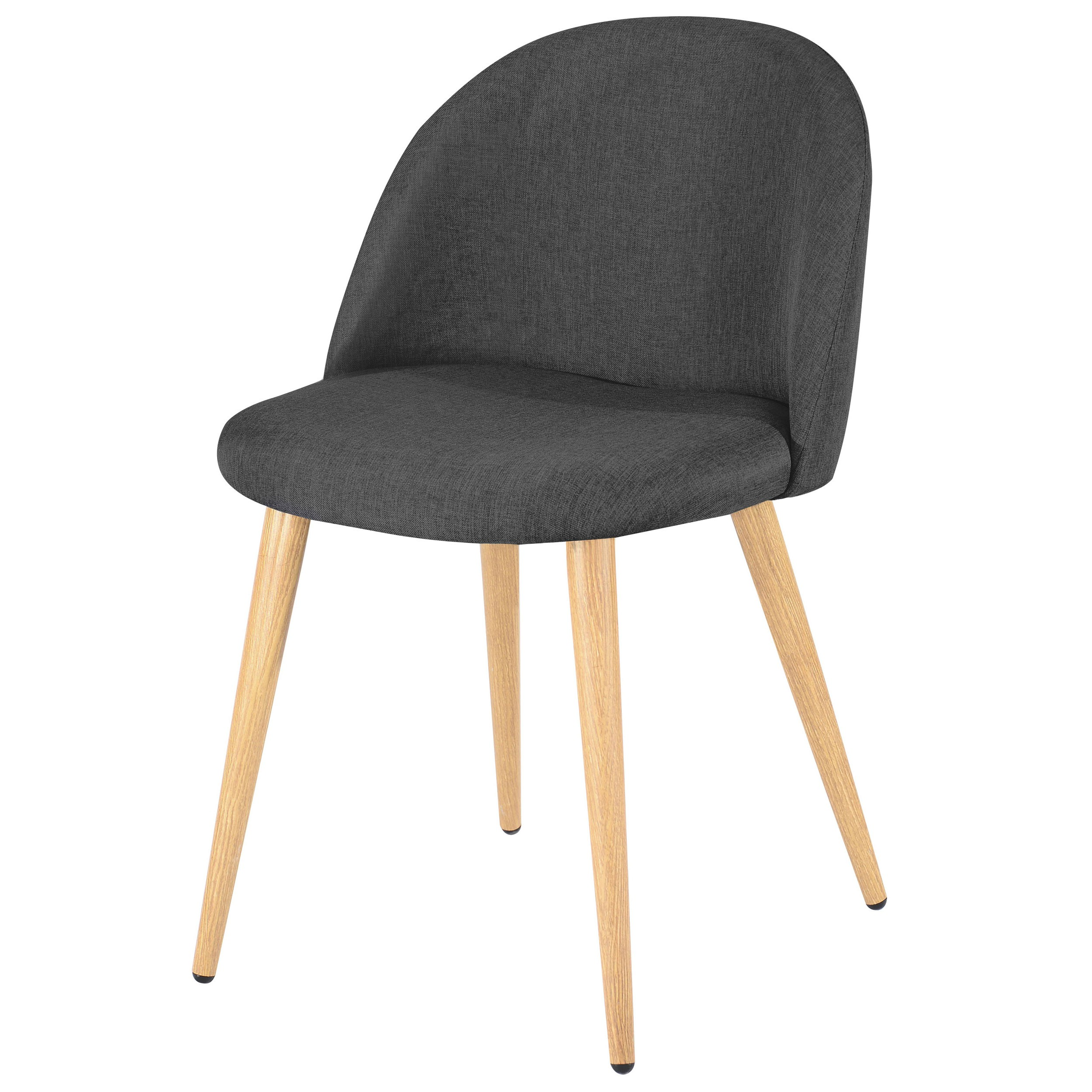 achat chaise gris fonce scandinave